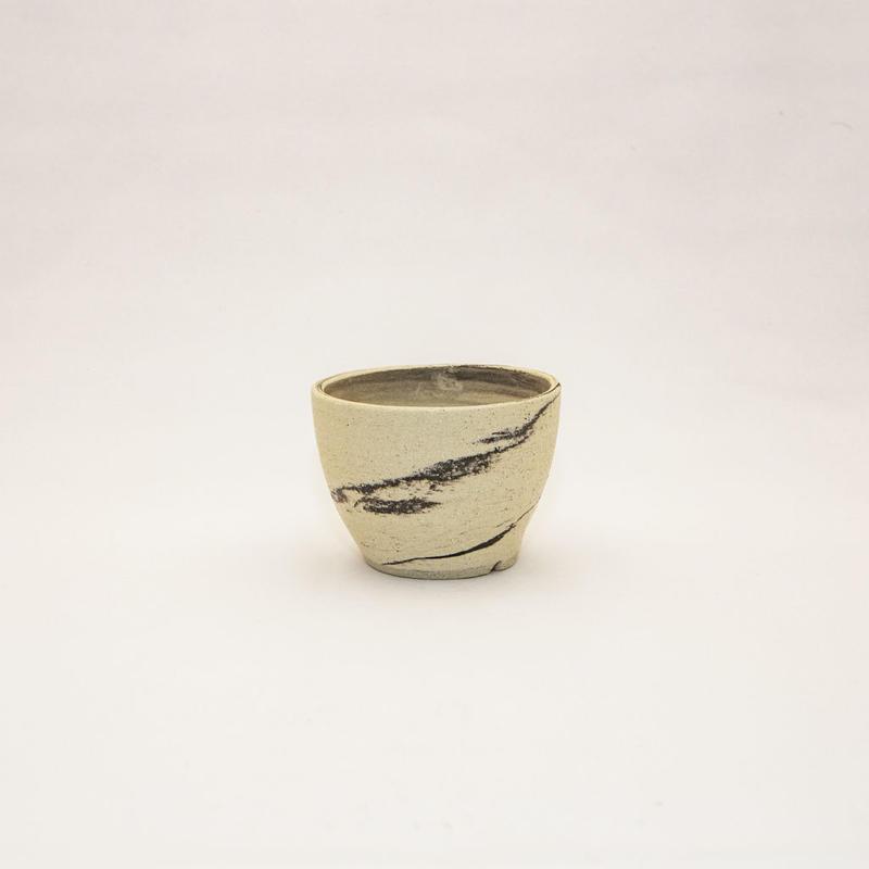 "Akio Fukuda Original Handmade Pot ""Yuuzen"".1  悠然.1"