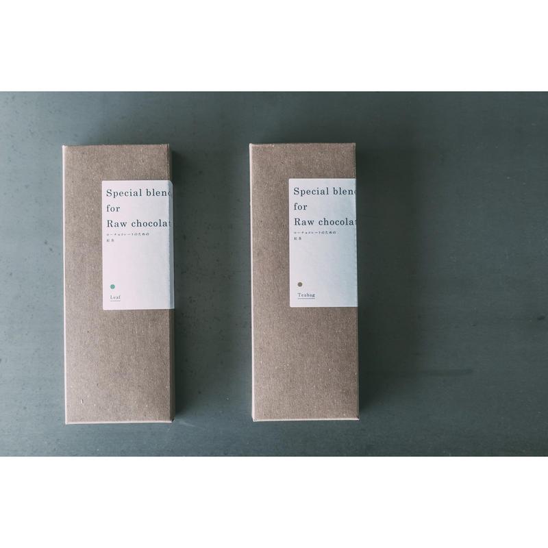 FUKU tenpo original ローチョコレートのための紅茶