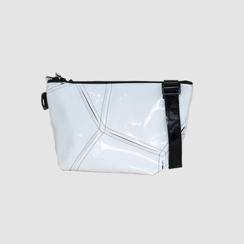 023 SHOULDER POUCH _white×black