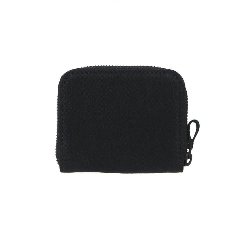 15 ミニマム財布 染色 ブラック