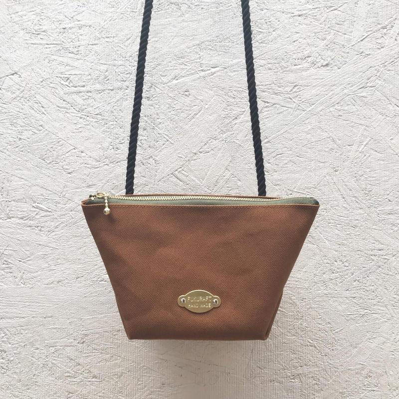 FUKURAFT / Japanese Canvas Shoulder Bag / CAM (FR-0007)