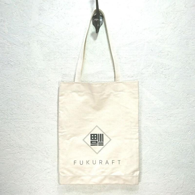 FUKURAFT / Japanese Canvas FLAT TOTE BAG (FR-0010)