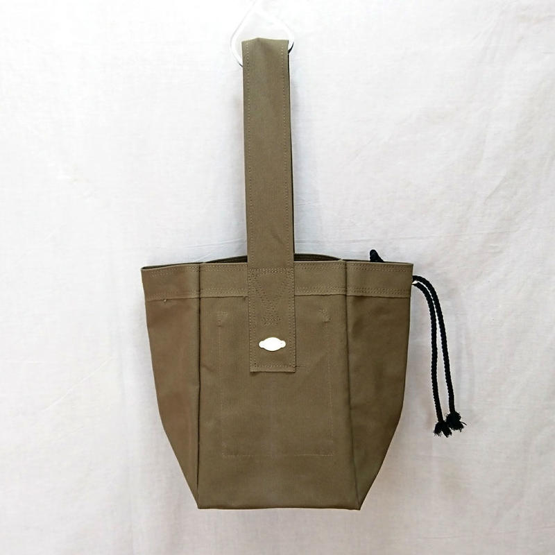 FUKURAFT / Japanese Canvas Tote Bag - L  / KHA (FR-0027)