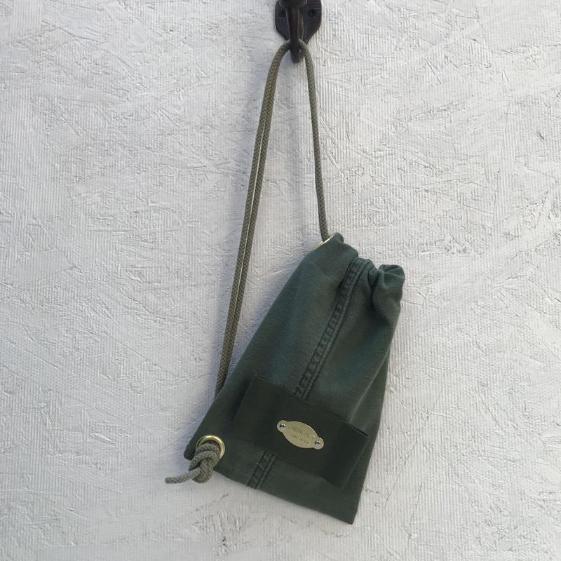 FUKURAFT / US Military Fabric Shoulder Bag for iPhone (FR-0001)