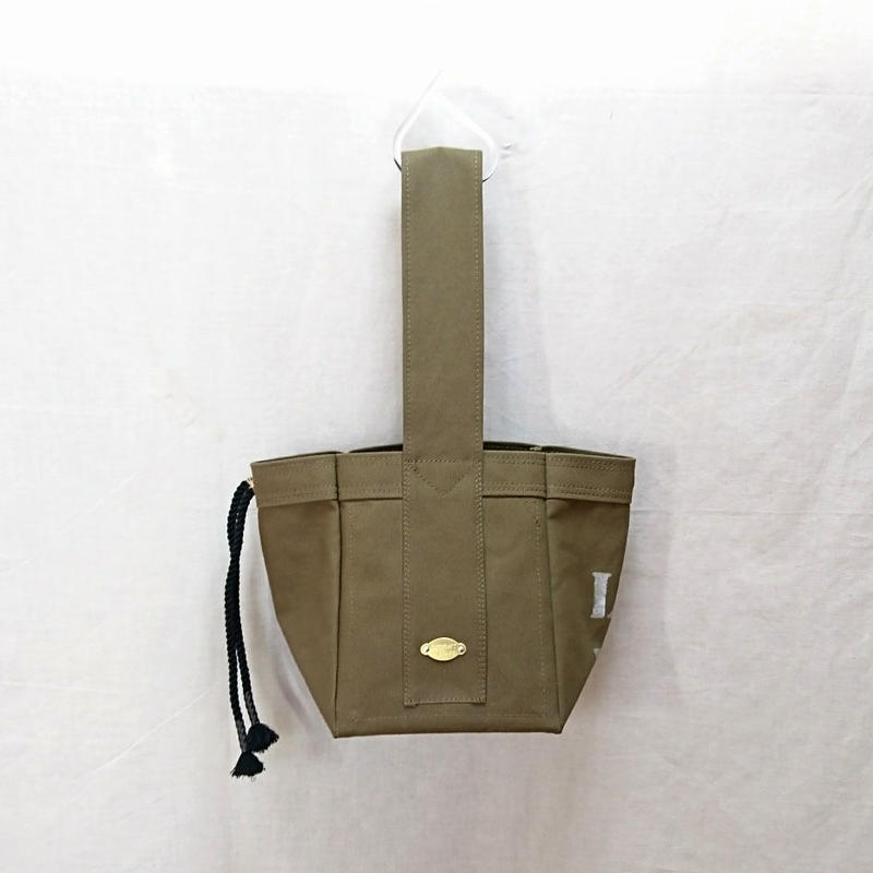 FUKURAFT / Japanese Canvas Tote Bag -S / KHA (FR- 0013)
