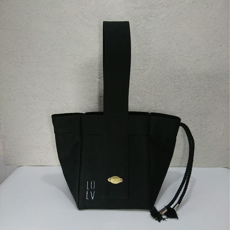 FUKURAFT / Japanese Canvas Tote Bag -S / BLK (FR- 0011)