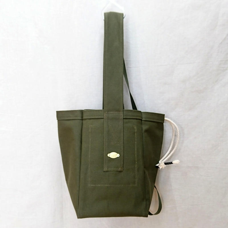 FUKURAFT / US Military Canvas Tote Bag - L (FR-0029)