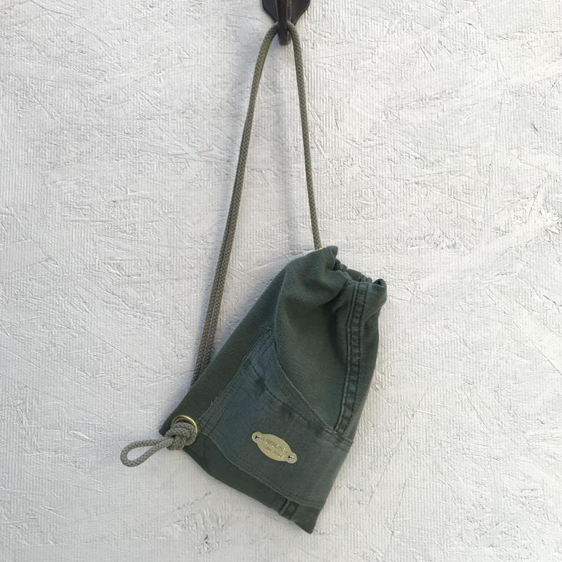 FUKURAFT / US Military Fabric Shoulder Bag for iPhone (FR-0004)