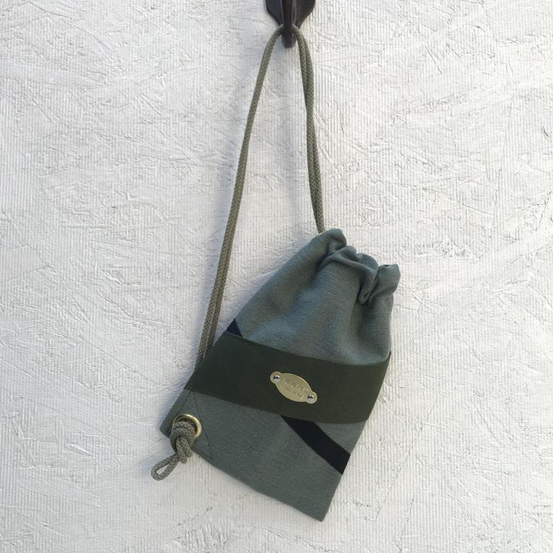 FUKURAFT / US Military Fabric Shoulder Bag for iPhone (FR-0005)