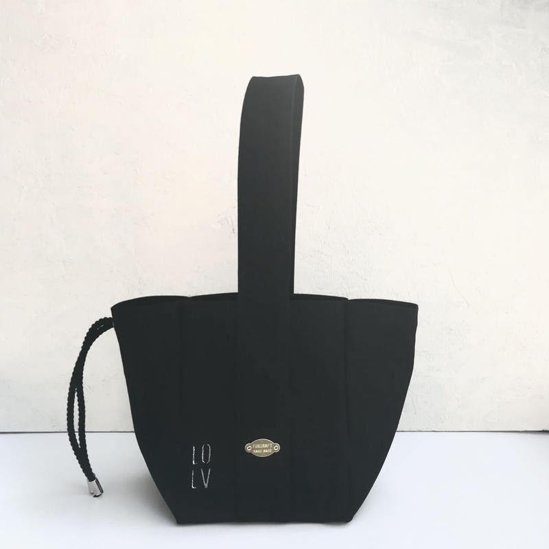 FUKURAFT / Japanese Canvas Tote Bag  (S) BLK
