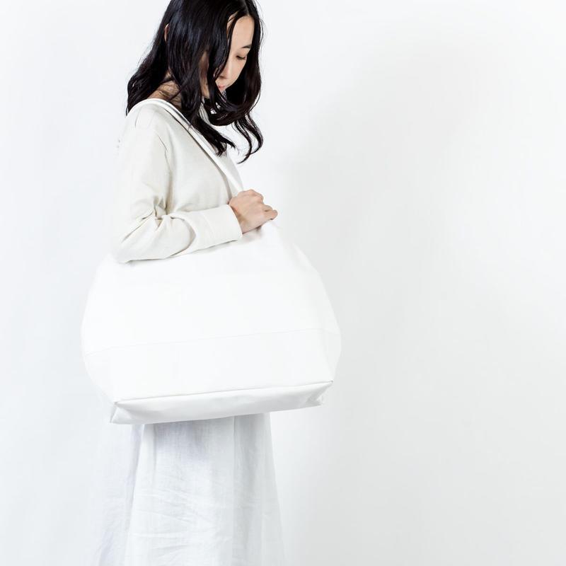 オーバルバッグ(A)白