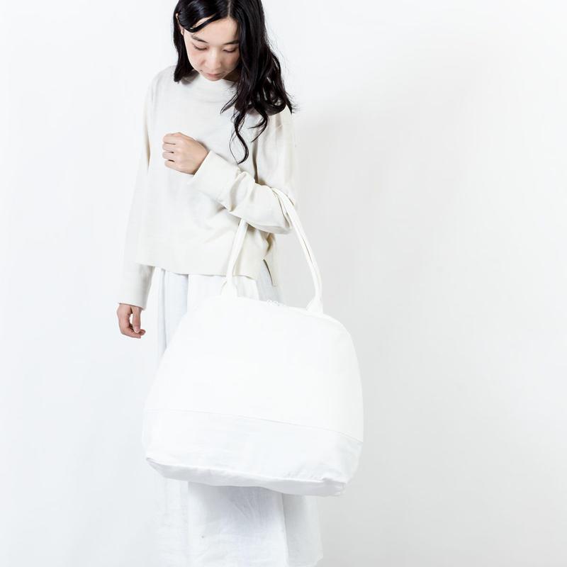 オーバルバッグ(B)白