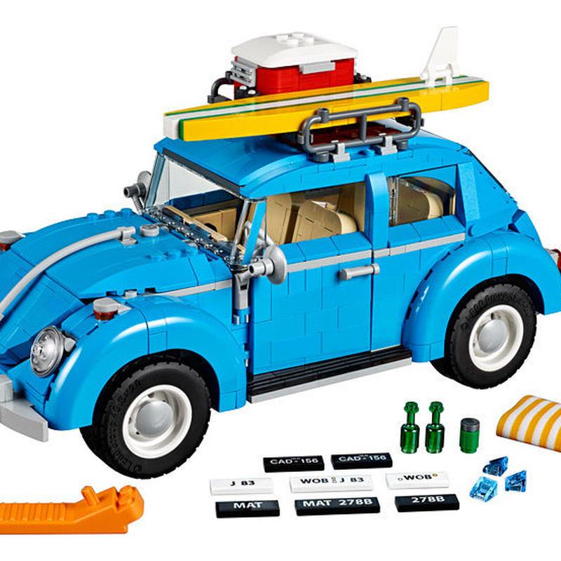 激レア!!レゴ 10252 クリエイター フォルクスワーゲン ビートル 互換品 LEPIN 21003