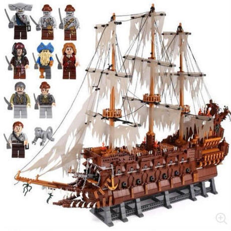 レゴ互換品 フライングダッチマン号 海賊幽霊船MOC パイレーツオブカリビアン 日本未発売