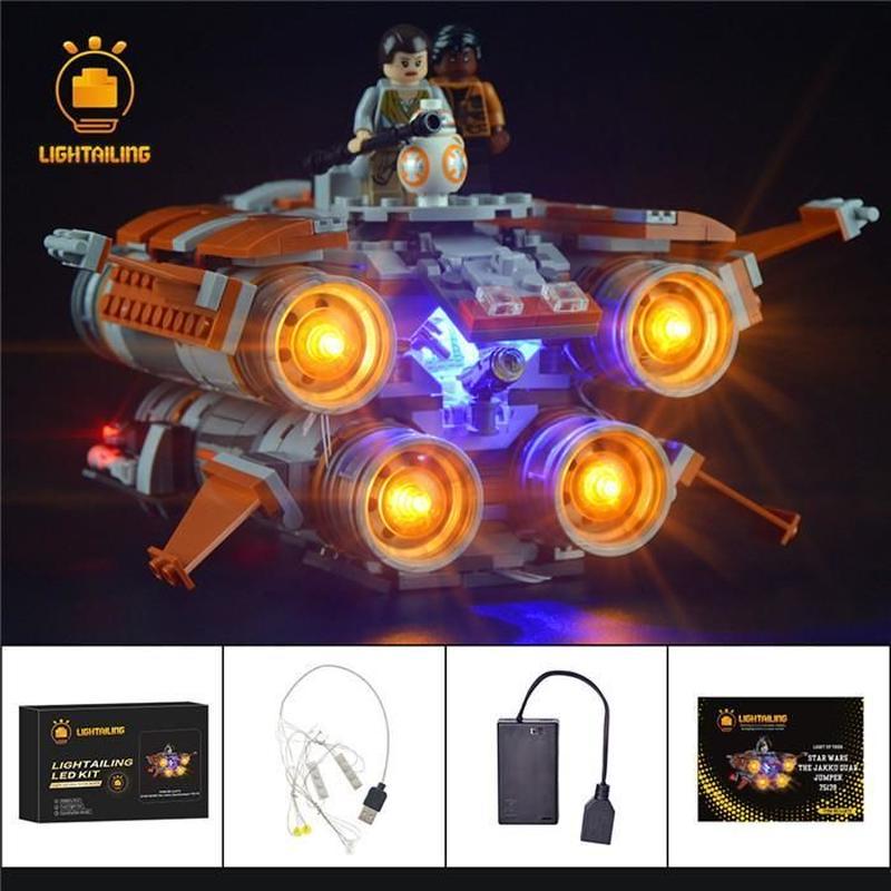 レゴ スターウォーズ 75178 ジャクーのクワッドジャンパー ライトアップセット [LED ライト キット+バッテリーボックス]