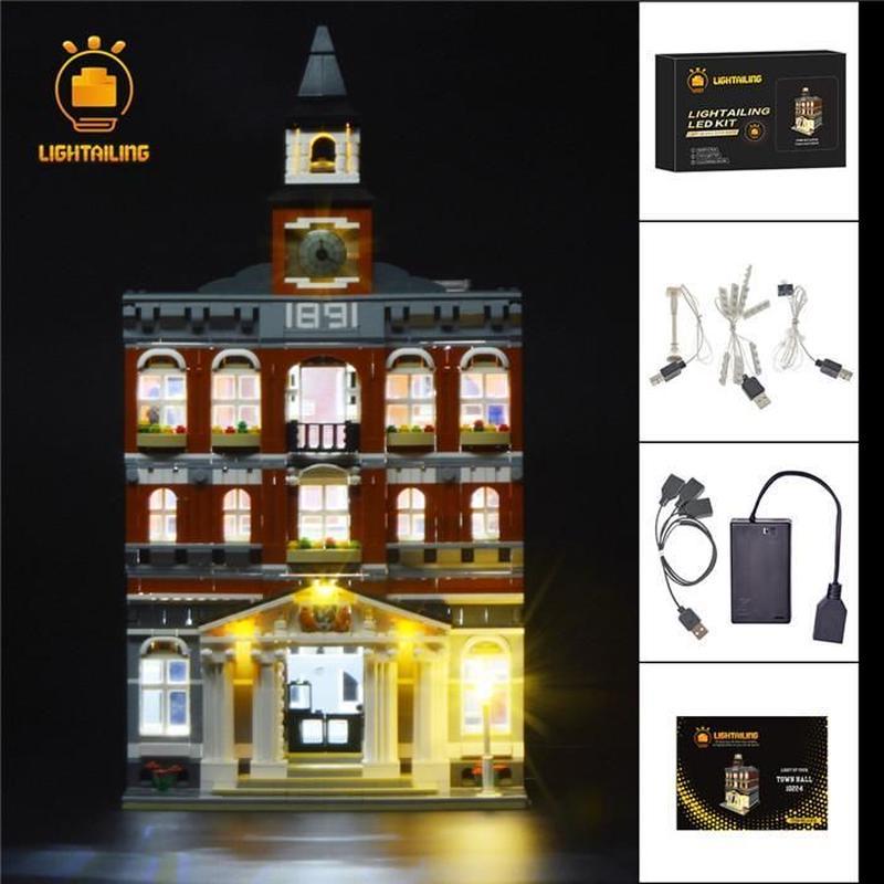 レゴ クリエイター 10224  タウンホール ライトアップセット [LED ライト キット+バッテリーボックス]