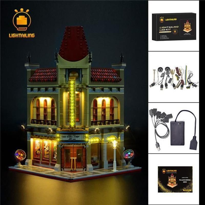 レゴ 10232 パレスシネマ ライトアップセット [LED ライト キット+バッテリーボックス]