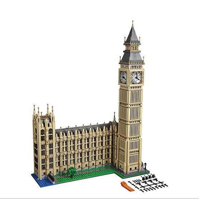 レゴ 10253相当 互換品 クリエーター エキスパート ビッグベン 欠パーツ保証 レゴブロック 知育 Lepin カーズ デロリアン