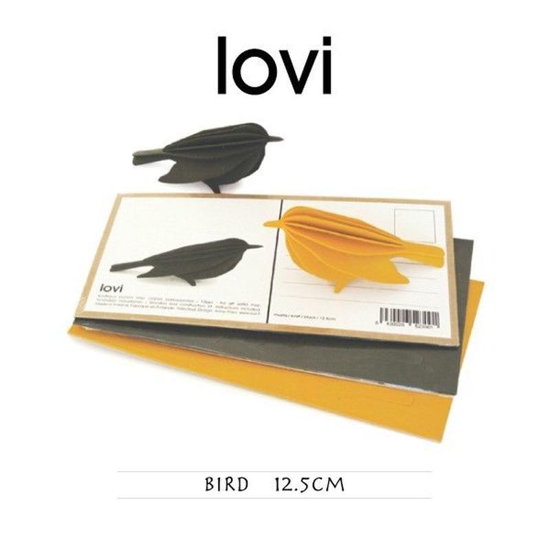 【ポストカード】 lovi(ロヴィ) バード 鳥 12.5cm