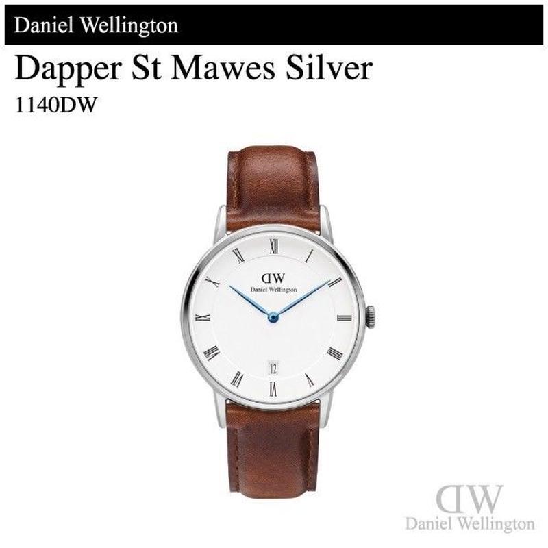 【腕時計】 ダニエル・ウェリントン ダッパー セントモーズ シルバー 34mm 1140DW
