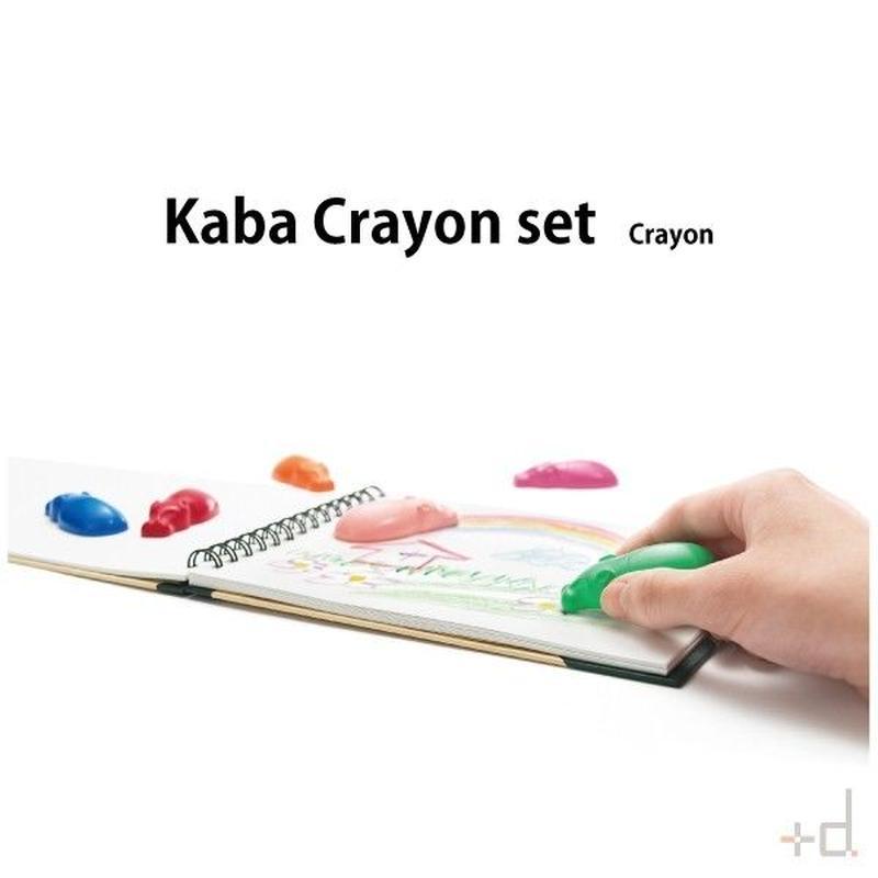 【クレヨン】 +d カバクレヨン セット