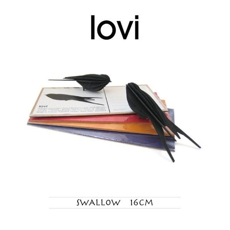 【ポストカード】 lovi(ロヴィ) スワロー ツバメ 16cm