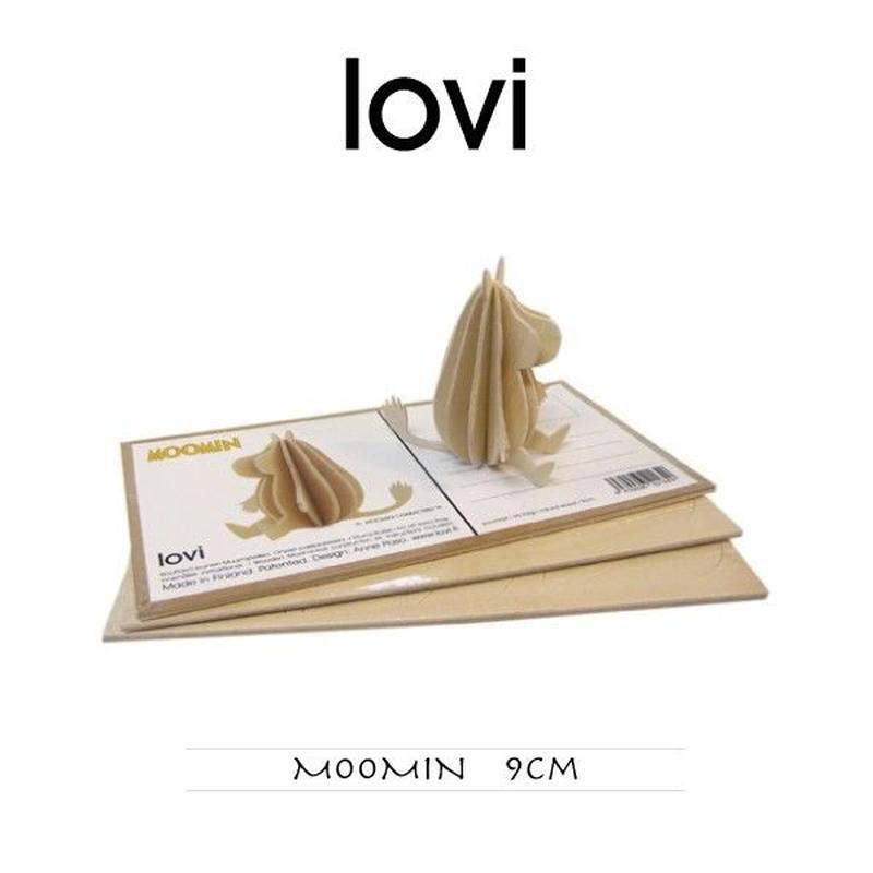 【ポストカード】 lovi(ロヴィ) ムーミン 9cm