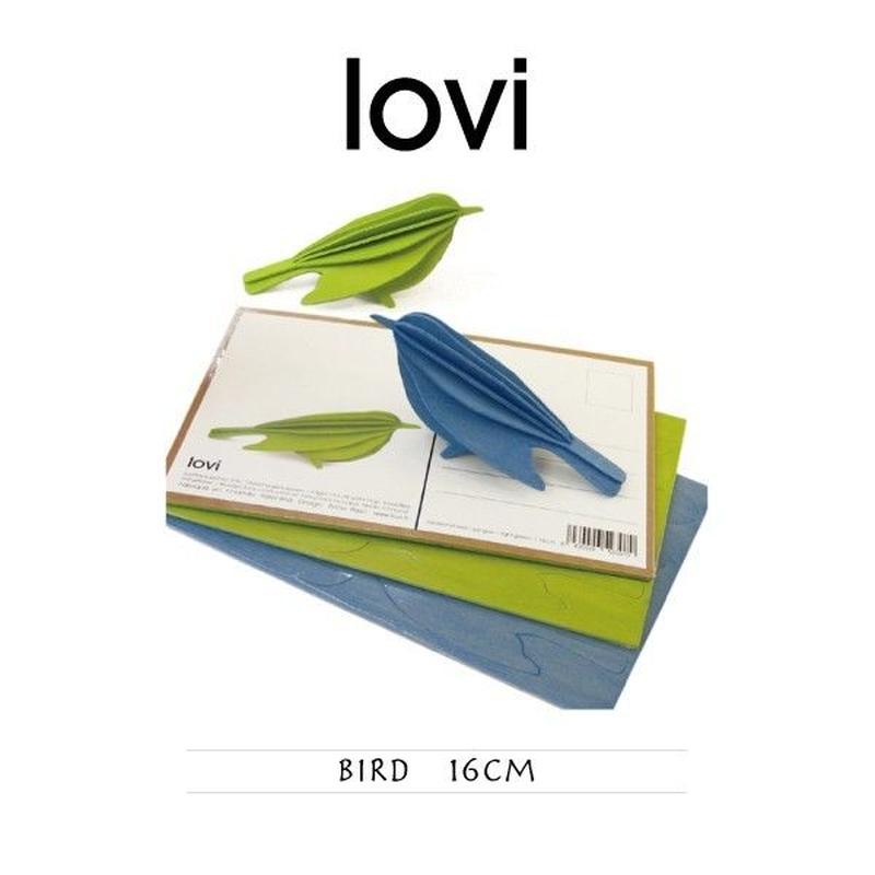 【ポストカード】 lovi(ロヴィ) バード 鳥 16cm
