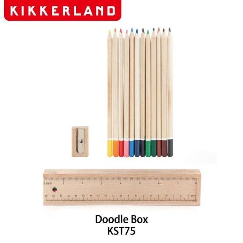 【色鉛筆】 キッカーランド ドゥードゥルボックス KST75