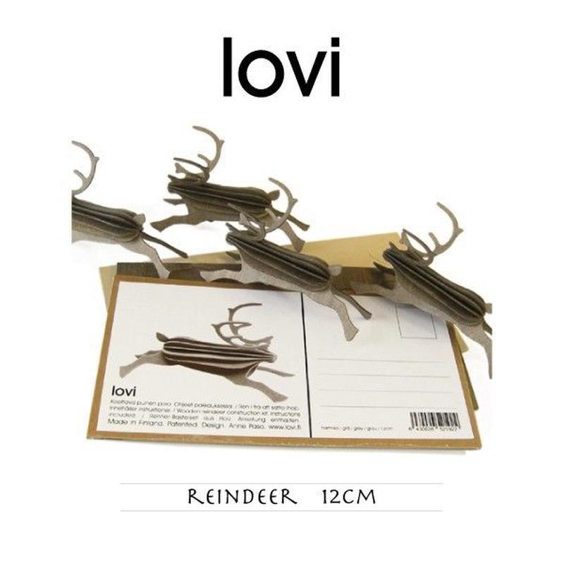 【ポストカード】 lovi(ロヴィ) レインディア トナカイ 12cm