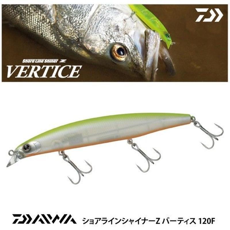【ルアー】 ダイワ ショアラインシャイナー Z バーティス 120F