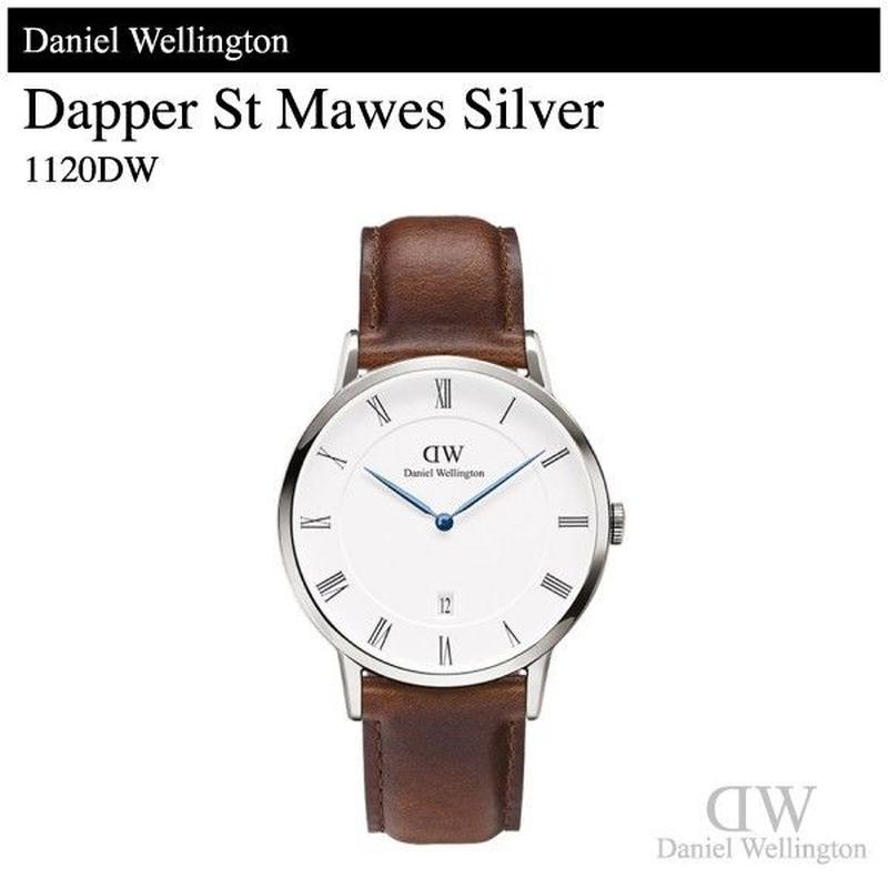 【腕時計】 ダニエル・ウェリントン ダッパー セントモーズ シルバー 38mm 1120DW