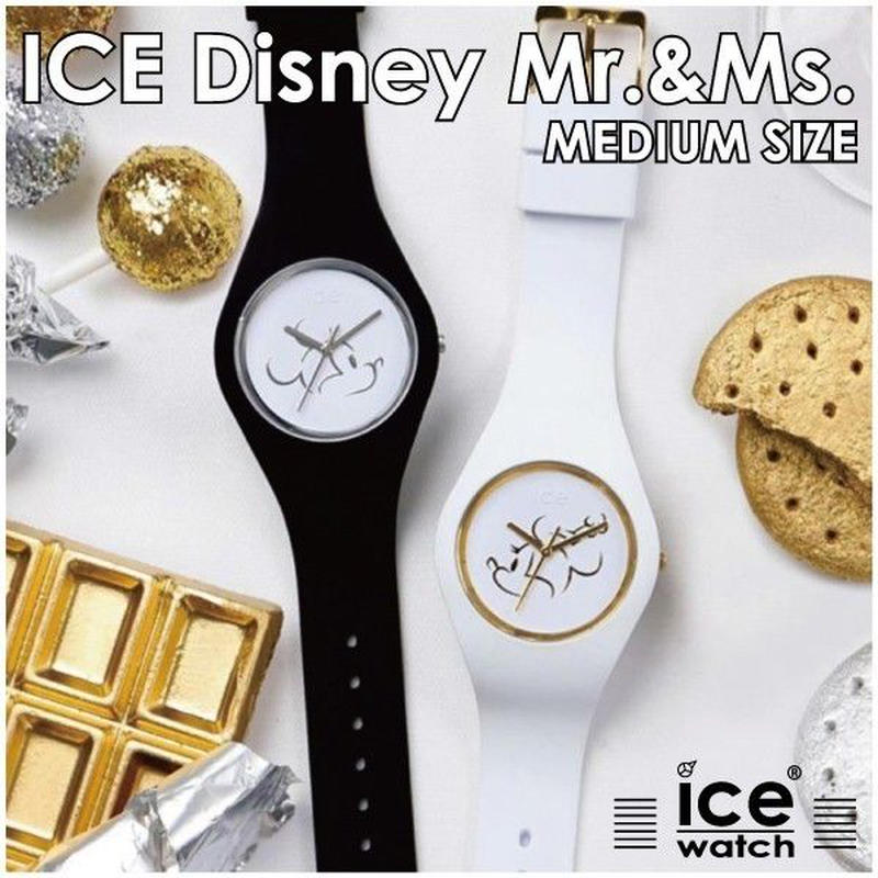 【腕時計】 アイスウォッチ ICE-Disney Mr.&Ms. medium