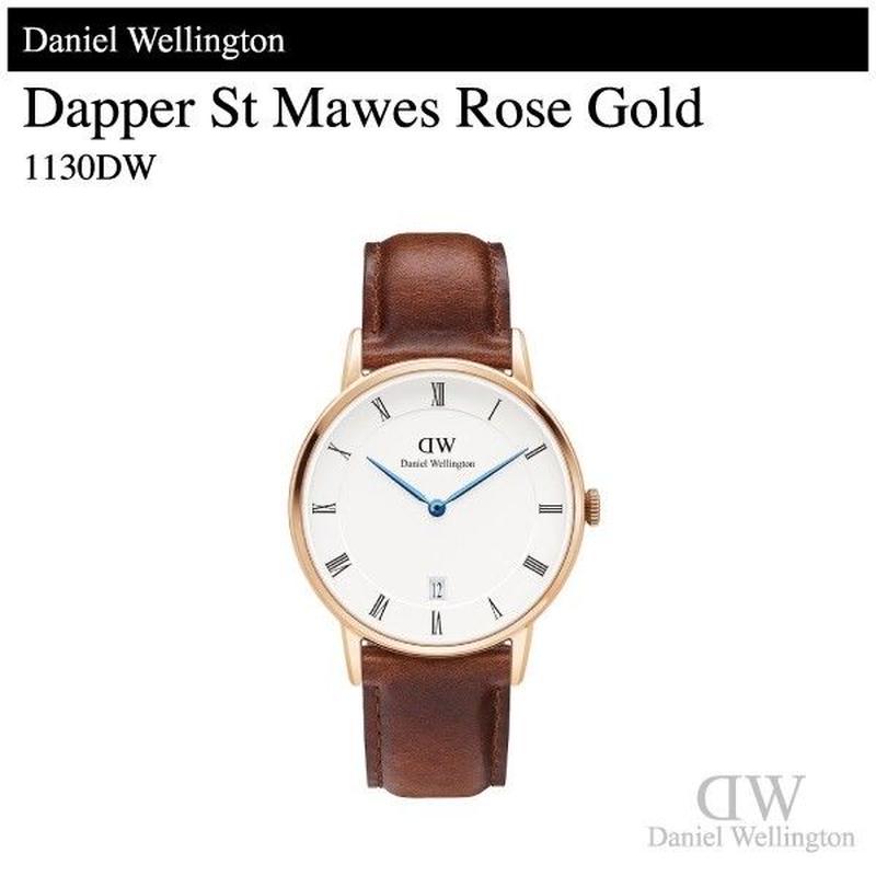 【腕時計】 ダニエル・ウェリントン ダッパー セントモーズ ローズゴールド 34mm 1130DW