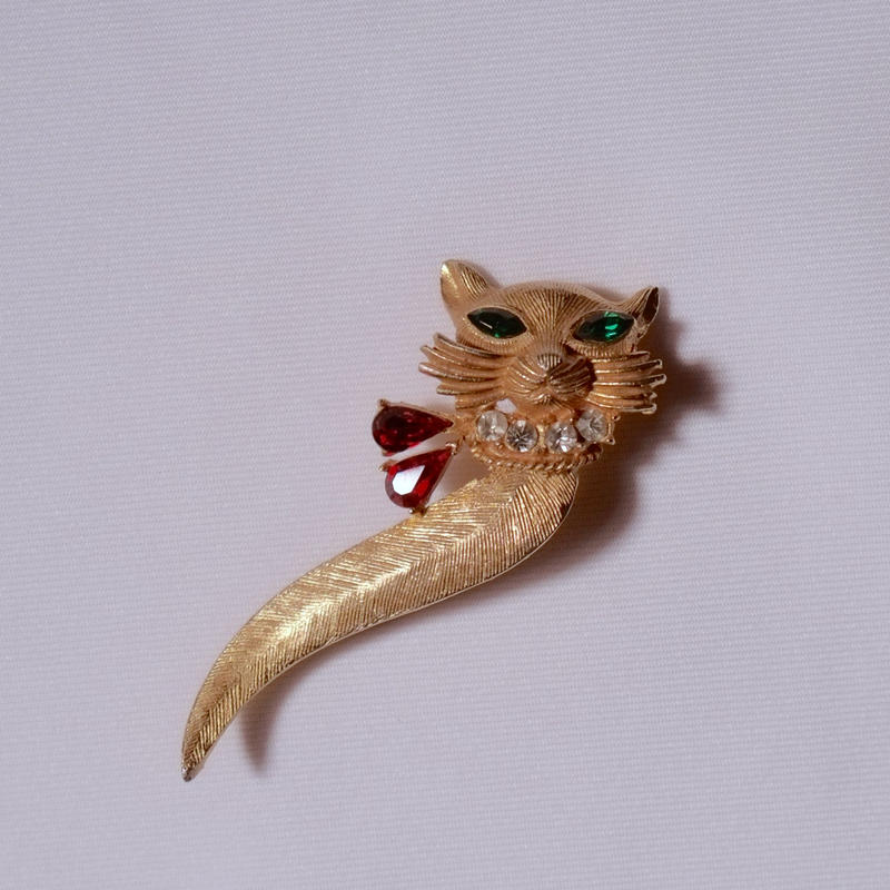 猫のブローチ(BR0109)