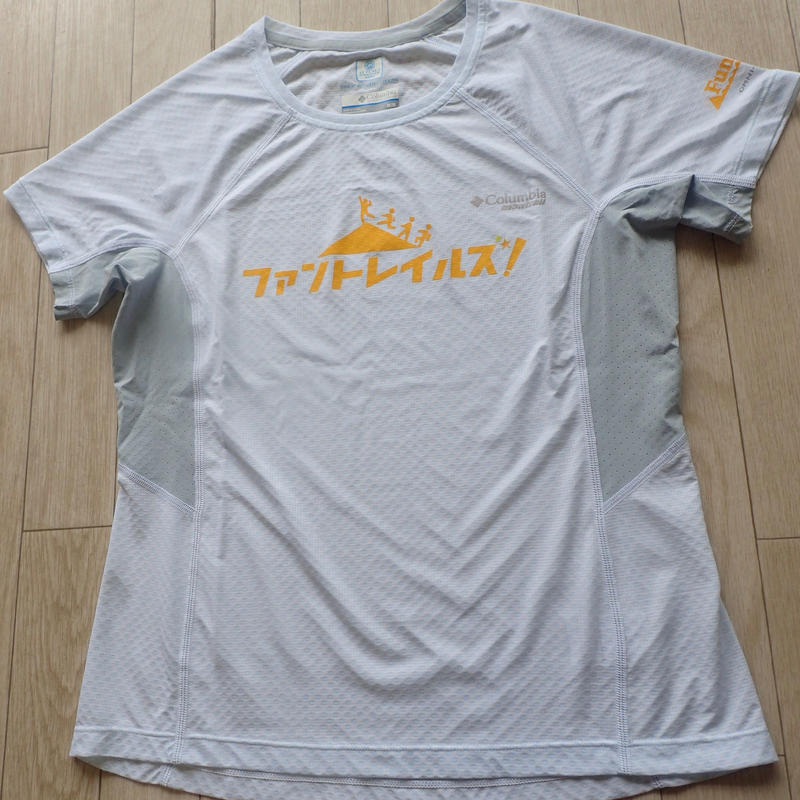【FunTrails オリジナルTシャツ2017】《White》ウィメンズ タイタンウルトラショートスリーブシャツ