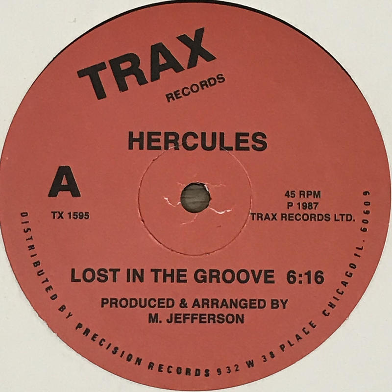Hercules - Lost In The Groove [12][Trax Records] ⇨シカゴハウス歴史的名作の再発盤!ジャッキん!