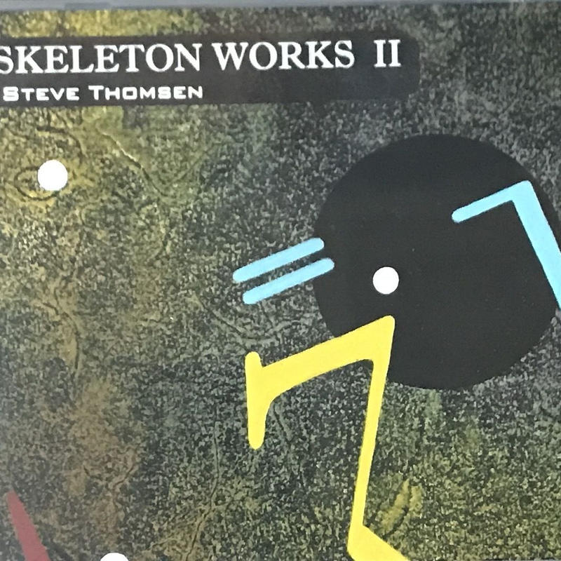 Steve Thomsen - Skeleton Works II [CD][Neurec] ⇨LAFMS関連Solid Eyeの一員、Steve ThomsenのSkeleton Worksシリーズ