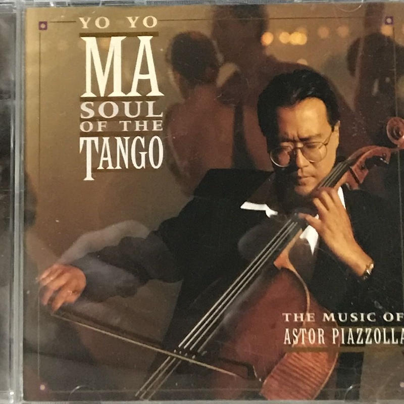Yo-Yo Ma - Soul of The Tango Piazzolla [CD][Sony]