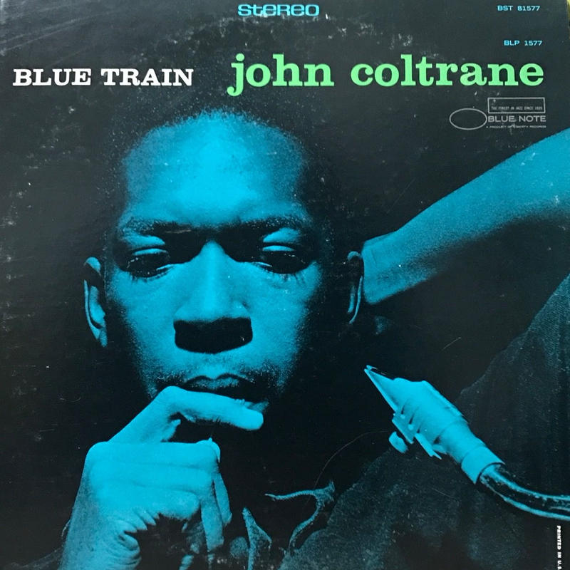 John Coltrane - Blue Train [LP][Blue Note] ⇨Blue Note 名盤。