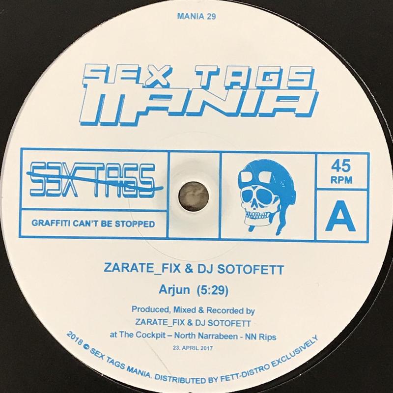 Zarate_Fix & DJ Sotofett - Arjun / Afroz [12][Sex Tags Mania] ⇨Sex Tags Mania 29番!