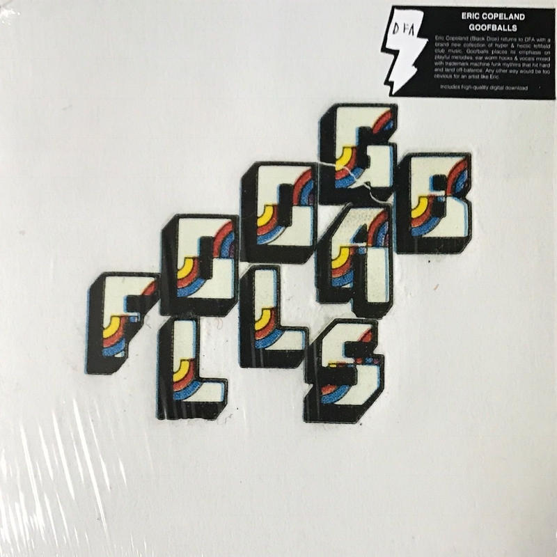 Eric Copeland - Goofballs [LP][DFA] ⇨ブルックリンの奇天烈 Black Diceの頭脳 Eric Copelandのソロ作品。