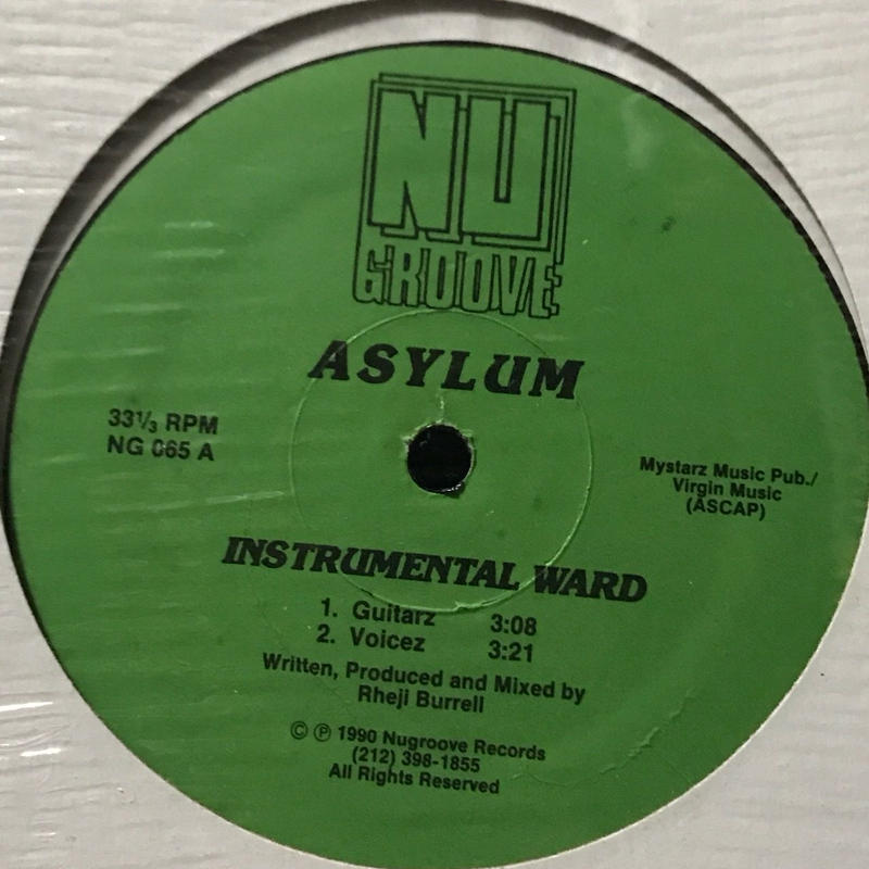 Asylum - Instrumental Ward [12][Nu Groove Records] ⇨90s NYハウス名門「Nu Groove Records」クラシック!