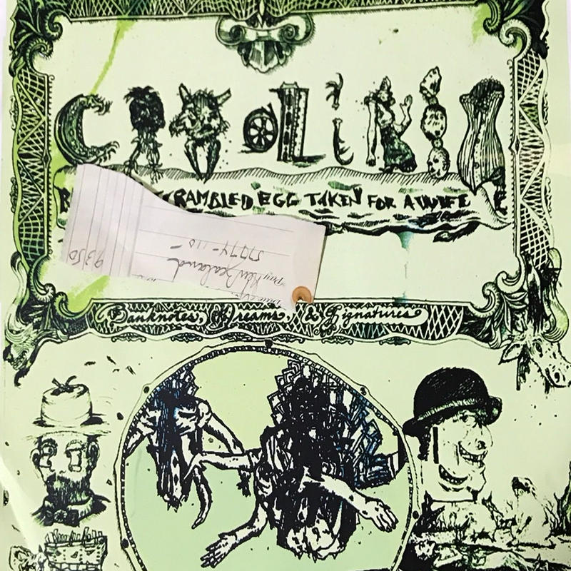 Caroliner Rainbow Scrambled Egg Taken For A Wife - Banknotes, Dreams & Signatures [LP] [Nuf Sed]