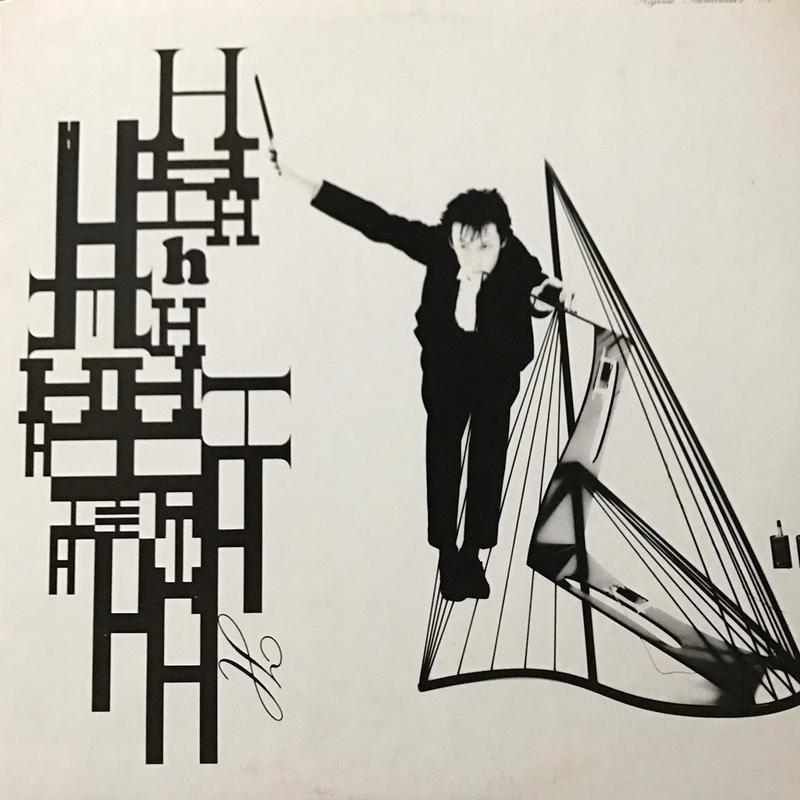 Hajime Tachibana - H [LP][Yen Records] ⇨自作楽器、アルプス一号という謎めいた楽器を駆使して産み出すヘンテコビート!