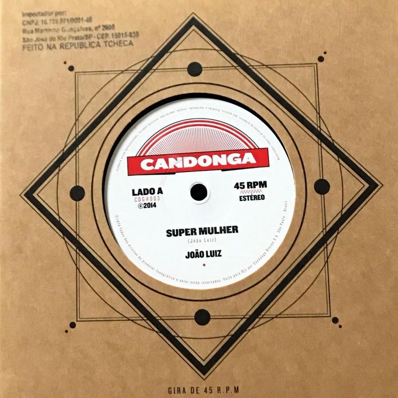 Joao Luiz - Super Mulher / Sambare [EP][Candonga Discos] ⇨ブラジリアンレアグルーヴのオリジナルは激レア盤な一枚。