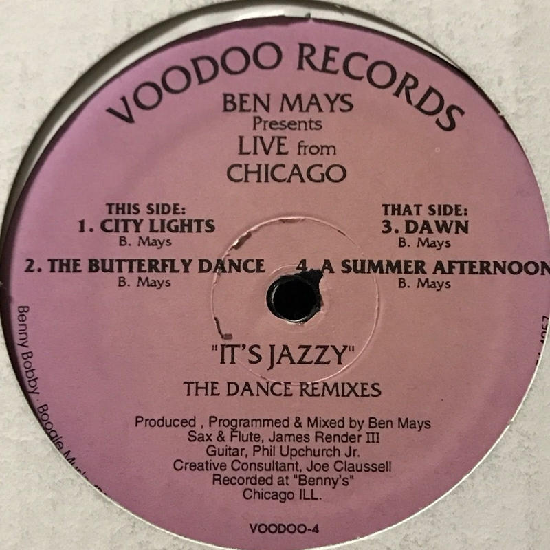 Ben Mays - It's Jazzy (The Dance Remixes) [12][Voodoo Records] ⇨92年 Deep House 傑作!