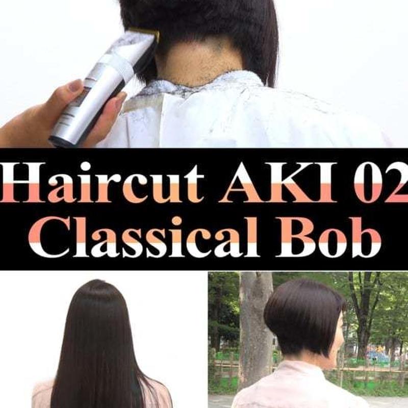 Haircut AKI 02 Classical Bob