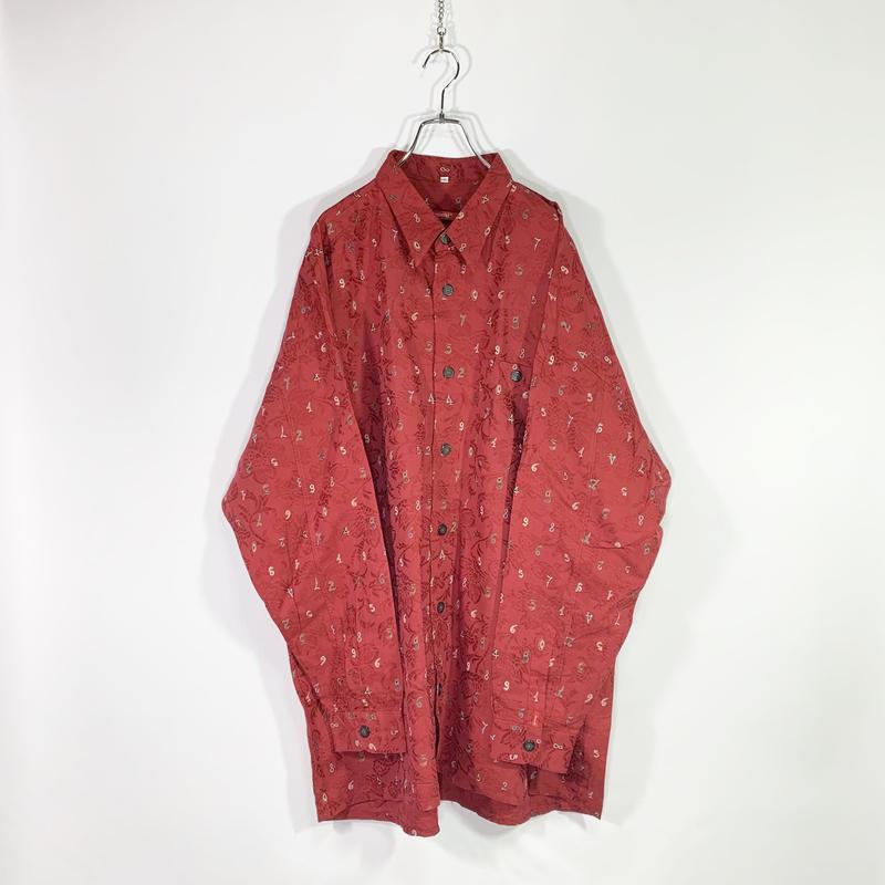 Number design shirt