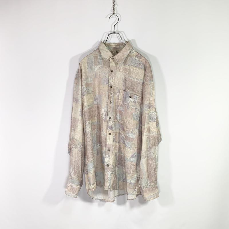 Cloudy color design shirt
